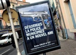 affiche police municipale