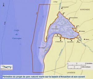 carte PNM arguin perimetre