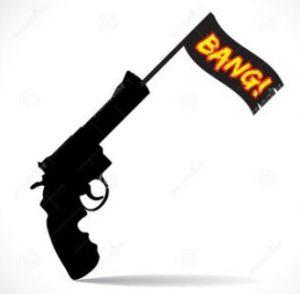 pistolet bang