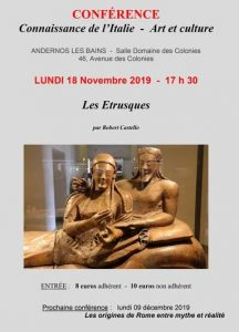 conference FIA les etrusques