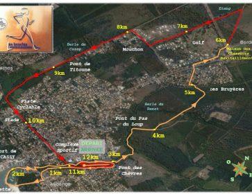 plan du parcours boucles lantonnaises