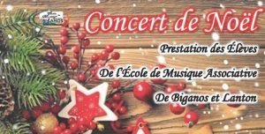 concert de noel biganos