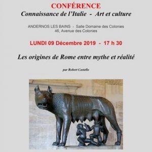 conference france italie origines de rome