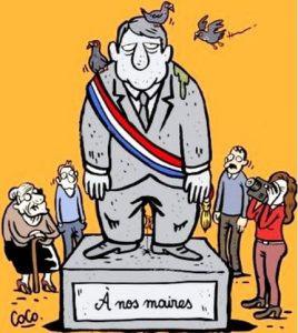 elections municipales statue maire 2