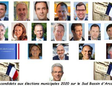 Candidats sud bassin municipales