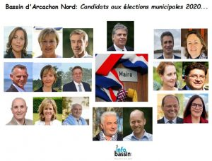 candidats groupe nord bassin municipales