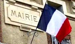 mairie logo drapeau