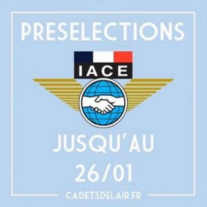 preselection IACE cadtes 2020