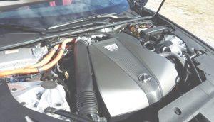 Lexus 4 SLR verges