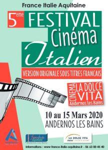 affiche festival cine italien 2020