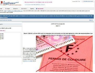 decret 200 euros et permis conduire corona