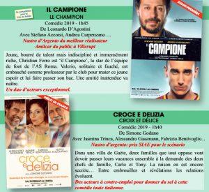 il campione festival cine italien