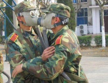 militaires coronavirus masques