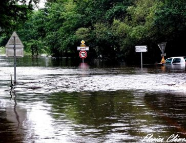 florian clement inondation route mios