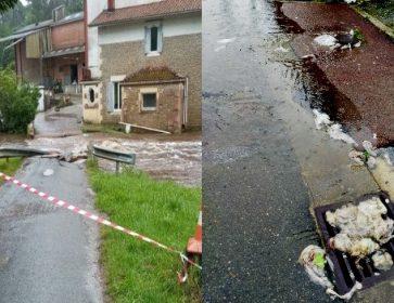 inondations salles egouts