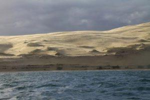 confoulan dune photo depuis ocean