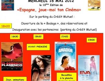 Affiche festival andernos Segorbe