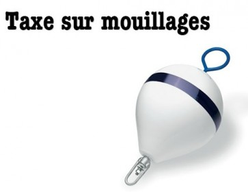 taxe mouillages