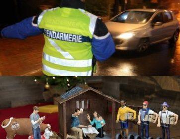 gendarme et creche