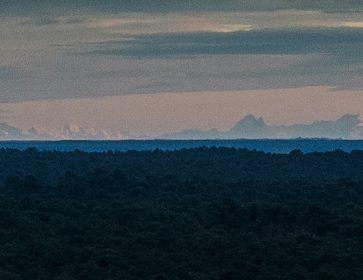 viala montagne pyrenees contraste