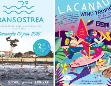 affiches transostrea lacanau wind