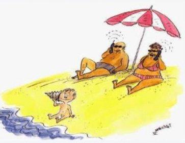 Acba plage dessin Laboreando con Nely