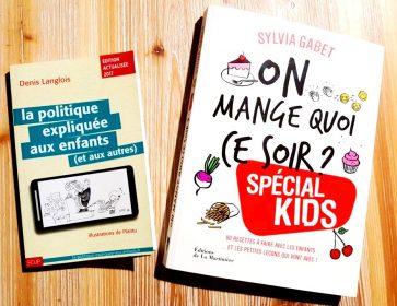 livres enfants politique cuisine