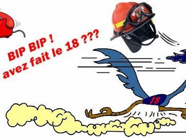 sos pv pompiers bip