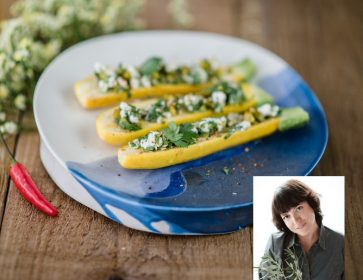 vad stephanie courgette ricotta portrait