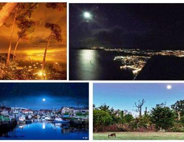 Photos : Le Bassin vu autrement, la nuit, sous la lune, par des passionnés… 12/11/19 De l'or juste avant la nuit,...