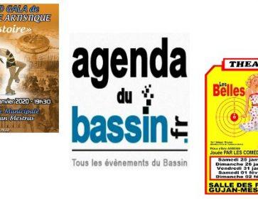 Agenda du Bassin : Où sortir cette semaine ? Theatre, concerts, fêtes, spectacles, conferences, cinéma… 23/01/20 Quelle Météo ce week-end pour...