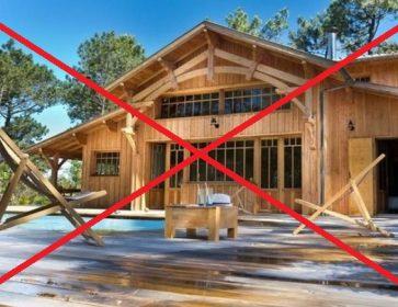 locaion villa interdite coronavirus villa bois cap ferrret