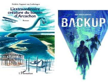 livres back up et creature bassin