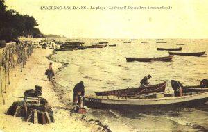 histoire du bassin confoulan travail huitres ports andernos
