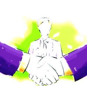 sos pujol mediation poigne de mains