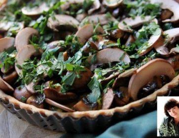 tarte aux champignons portrait steh vad