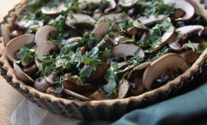 tarte aux champignons vad steph