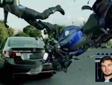 accident moto SOS pujol portrait