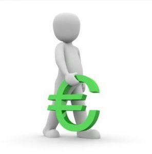 argent porteur euro