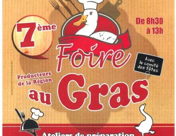 AFFICHE FOIRE AU GRAS 2021