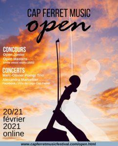 cap ferret music open 2021