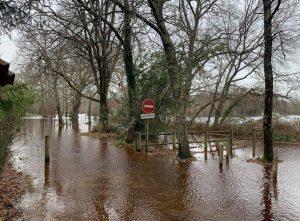 inondation biganos courant d eyre