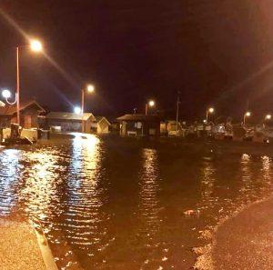 inondation cabanes la hume gujan