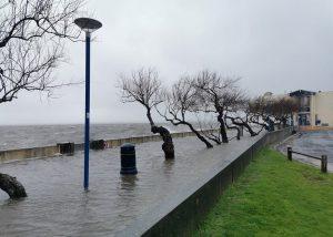 inondation mauret mur piscine andernos