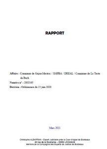 couv 2 rapport dragage port de la teste