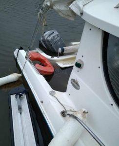 bateau noyé photo port de la teste dragage smpba photo tomme malprat