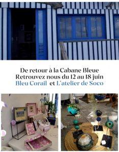 cabane bleue atelier de soco