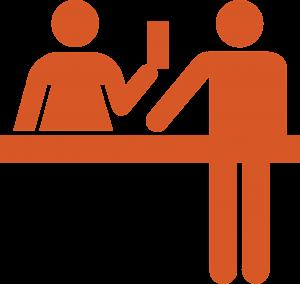 comptoir douane image pass sanitaire