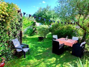 location maison jardin