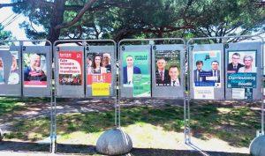 panneau election regionale